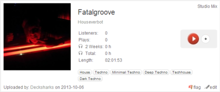 Listen: Houseverbot at Play.fm